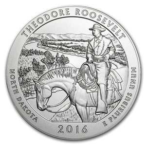 Compare silver prices of 2016 Silver 5oz. Theodore Roosevelt National Park ATB